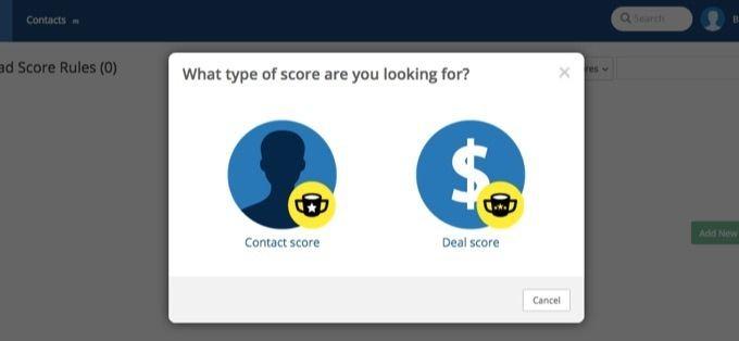 Contact score